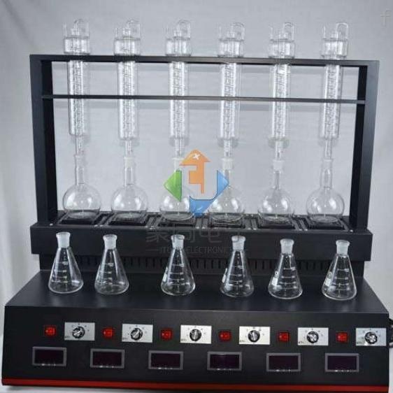 广州全自动蒸馏仪JTZL-6氨氮蒸馏器